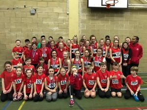 Juniors sportshall