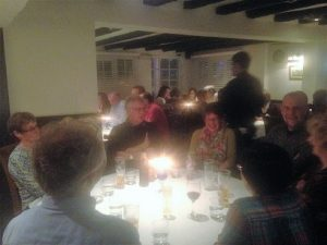 MAC members socialising at Curry Night