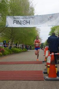 Easter 10 Finish